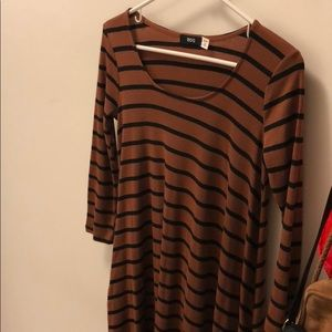 Striped urban outfitters dress